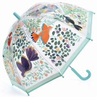 Kids Transparent Umbrella Djeco Flowers & Birds