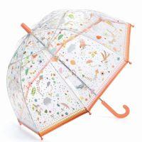 Kids Transparent Umbrella Djeco Small Lightnesses