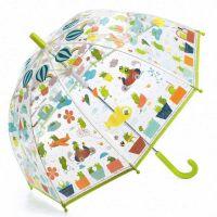Kids Transparent Umbrella Djeco Froglets