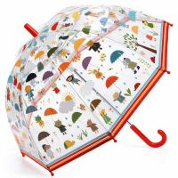 Kids Transparent Umbrella Djeco Under The Rain