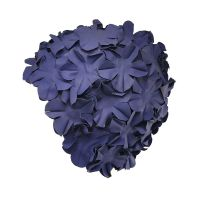 Swimming Cap With Flowers Blue