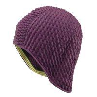 Ladies' Waffle Swimming Cap Light Purple