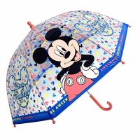 Manual Transparent Umbrella Disney Mickey Mouse Be Awesome
