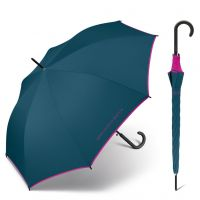 Long Automatic Umbrella United Colors of Benetton Smaragd