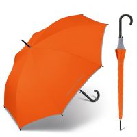 Long Automatic Umbrella United Colors of Benetton Tungerine