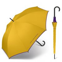 Long Automatic Umbrella United Colors of Benetton Nugget Gold