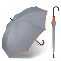 Long Automatic Umbrella United Colors of Benetton Grey Winds