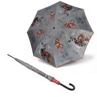 Long Automatic Umbrella Knirps Ruby