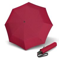 Automatic Open - Close Folding Umbrella Knirps T.200 Ecorepel Difference Red
