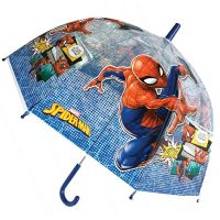 Kids Manual Transparent Umbrella Marvel Spiderman This Looks Like A Job