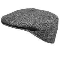 Winter Herringbone cap 504 Kangol Black