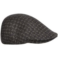 Winter Cap 507 Kangol Jacquard Tic Tac Dark Flannel