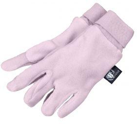 Γάντια παιδικά fleece μοβ Sterntaler