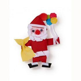 Πιαστράκι για τα μαλλιά παιδικό Santa Claus