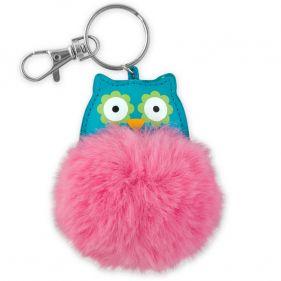 Μπρελόκ παιδικό κουκουβάγια Stephen Joseph Pom Pom Critter Key Chains Owl