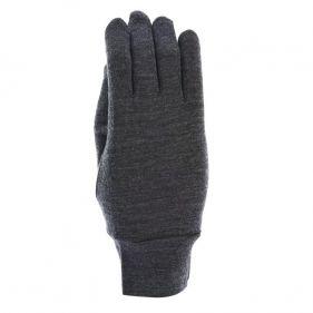 Γάντια λεπτά ελαστικά μάλλινα γκρι Extremities Merino Touch Liner Glove, πάνω όψη