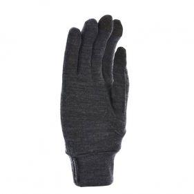 Γάντια λεπτά ελαστικά μάλλινα γκρι Extremities Merino Touch Liner Glove, κάτω όψη