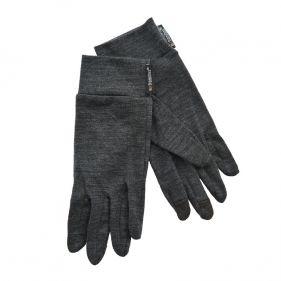 Γάντια λεπτά ελαστικά μάλλινα γκρι Extremities Merino Touch Liner Glove