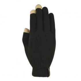 Γάντια πλεκτά unisex Extremities Thinny Touch Glove, μαύρα, πάνω όψη
