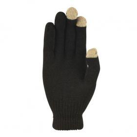 Γάντια πλεκτά unisex Extremities Thinny Touch Glove, μαύρα, κάτω όψη