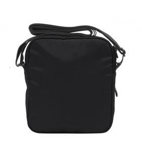 Τσαντάκι ώμου ανδρικό μαύρο National Geographic Transform Utility Bag Black. πίσω όψη
