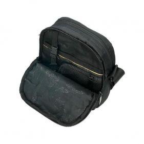 Τσαντάκι ώμου ανδρικό μαύρο National Geographic Transform Utility Bag Black, εσωτερικό