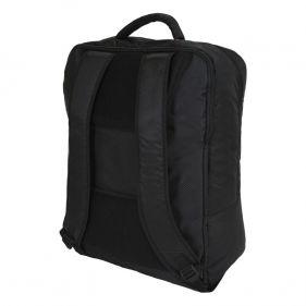 Τσάντα ταξιδίου - σακίδιο πλάτης μαύρο Stelxis Ultra Light Cabin Bag Black, πίσω όψη