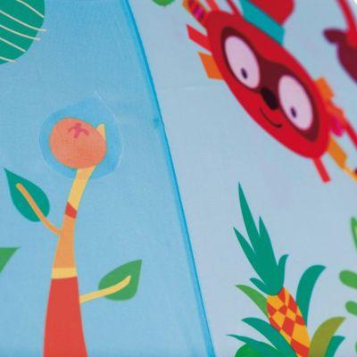 Ομπρέλα παιδική χειροκίνητη Georges το πιθηκάκι Lilliputiens Georges Unbrella, λεπτομέρεια, έκπληξη