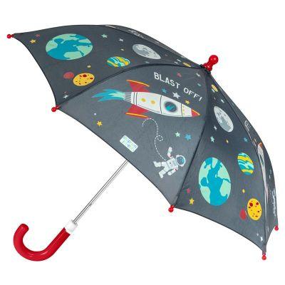 Ομπρέλα παιδική που χρωματίζεται στη βροχή διάστημα Stephen Joseph Color Changing Umbrella Space.