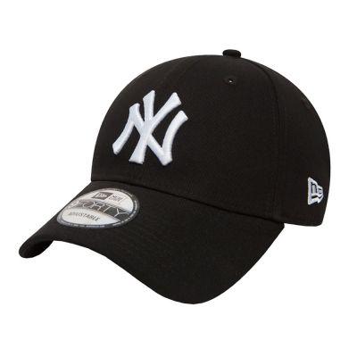 Summer Cotton Cap New York Yankees New Era 9Forty League Essential Black