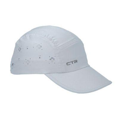 Καπέλο τζόκεϊ με αντηλιακή προστασία ανοιχτό γκρι  CTR Summit Ladies Vent Cap Light Grey