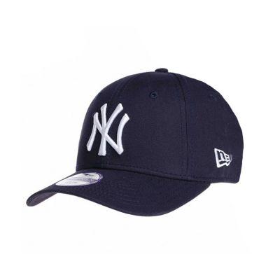 Summer Cotton Kids' Cap New York Yankees New Era 9Forty League Essential Dark Blue