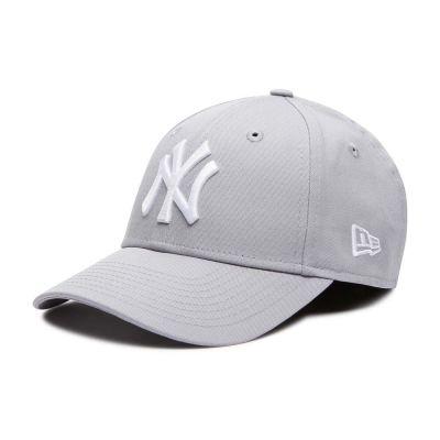 Summer Cotton Kids' Cap New York Yankees New Era 9Forty League Essential Grey