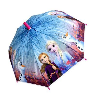 Kids Automatic Stick Umbrella Disney Frozen II Elsa & Anna