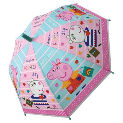 Kids Manual Umbrella Peppa Pig Another Perfect Day