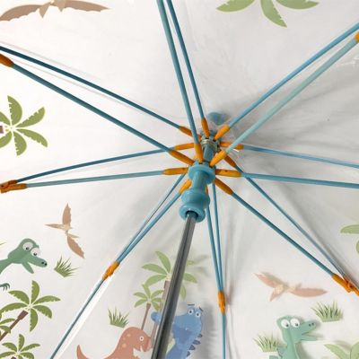 Kids Small Transprent Umbrella Dino